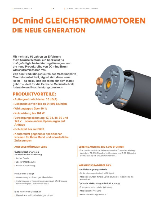 Crouzet Motors Dcmind Gleichstrommoten
