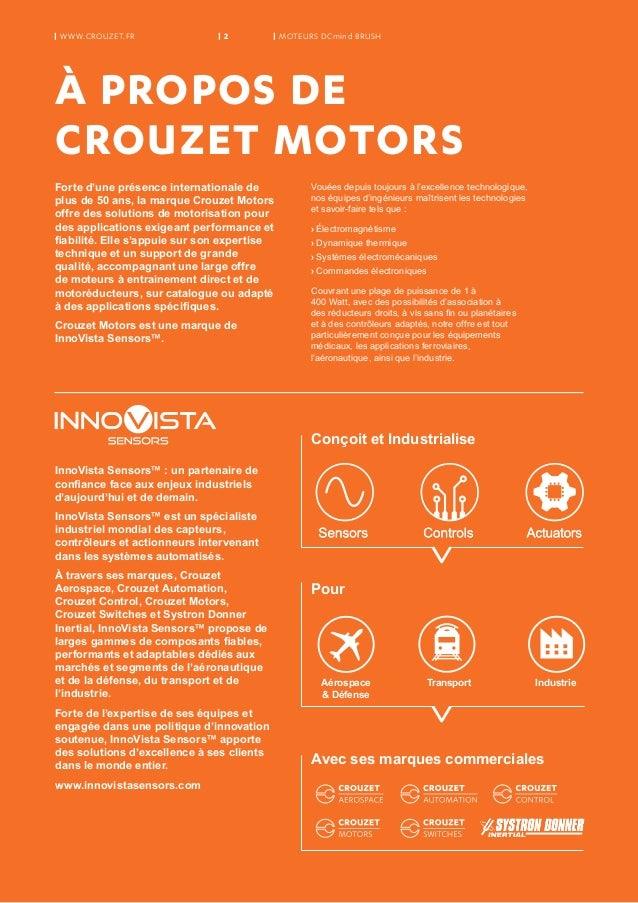 Crouzet Motors Moteurs Balais Dcmind