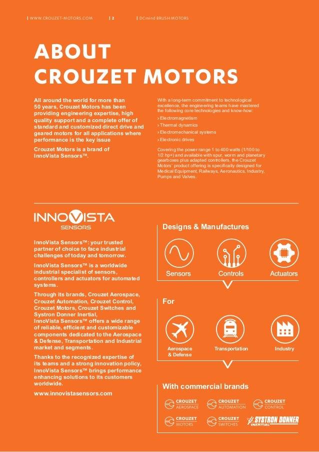 Crouzet Motors Dcmind Brush Motors