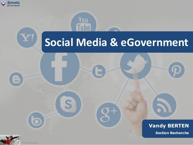 Vandy BERTEN  Section Recherche  Social Media & eGovernment  flickr.com/infocux