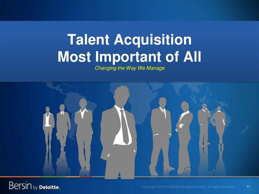 11 talent acquisition most important