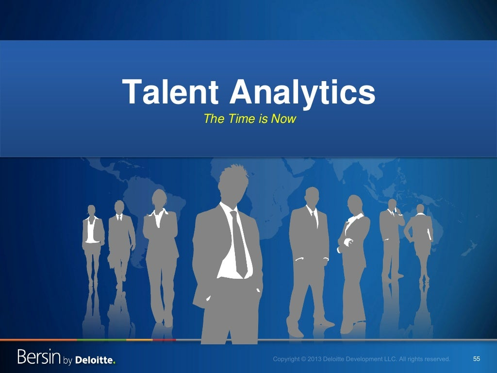 finding and developing employee talent at deloitte Free essay: finding and developing employee talent at deloitte – a case study 1 using the descriptions of different behaviors, attitudes, and abilities that.