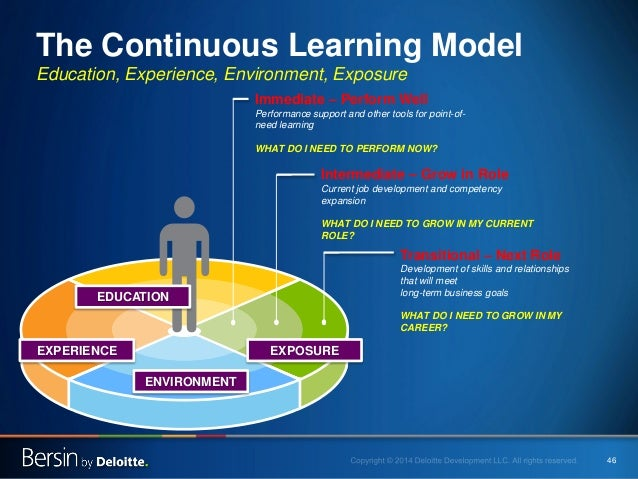 46 The Continuous Learning Model