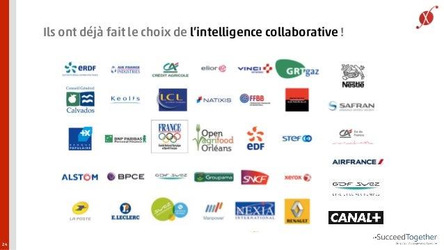 Ils ont déjà fait le choix de l'intelligence collaborative !  24