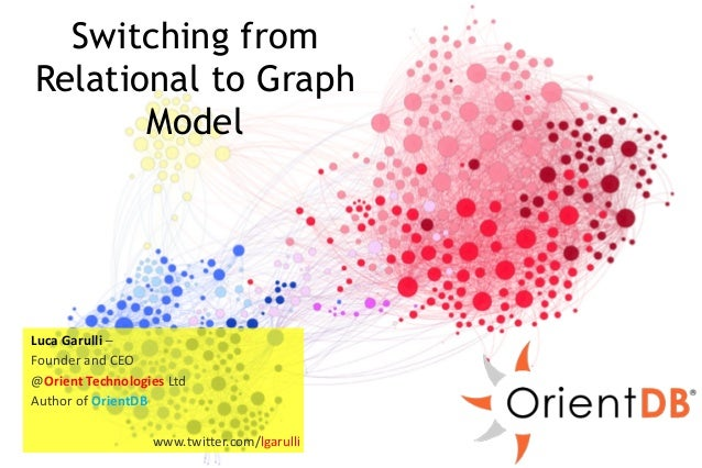 Switching from  Relational to Graph  Luca  Garulli  –  Founder  and  CEO  @Orient  Model  Technologies  Ltd  Author  of  O...
