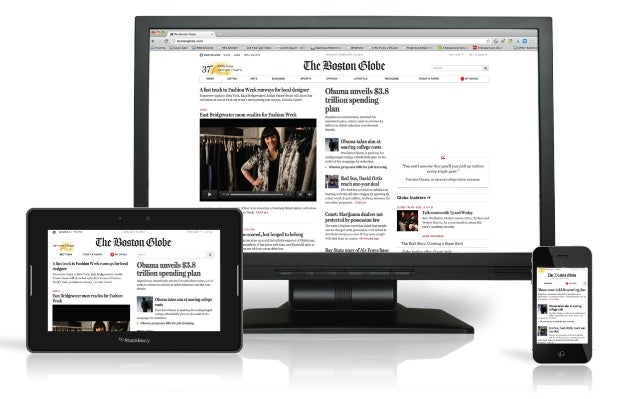 If we go responsive, can we serve  a different homepage?
