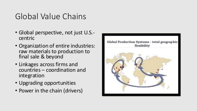 a study of industrial upgrading using global commodity chains Does industrial upgrading generate employment and  gains from industrial upgrading in global  case study of global value chains, our analysis using.
