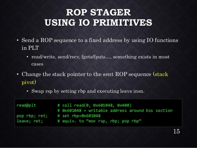ROP Illmatic: Exploring Universal ROP on glibc x86-64 (en)