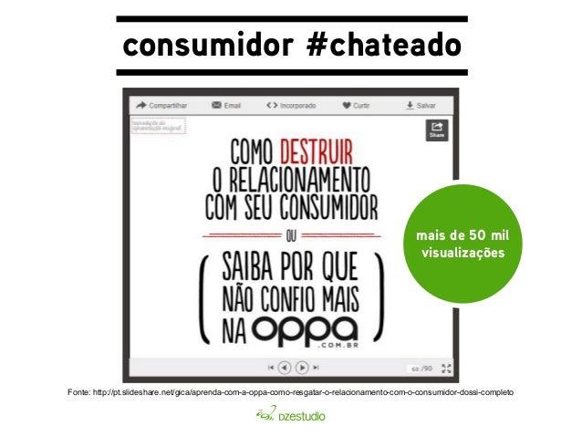 consumidor #chateado  Fonte: http://economia.uol.com.br/noticias/redacao/2013/07/04/video-de-consumidor-enfurecido-gera-cr...