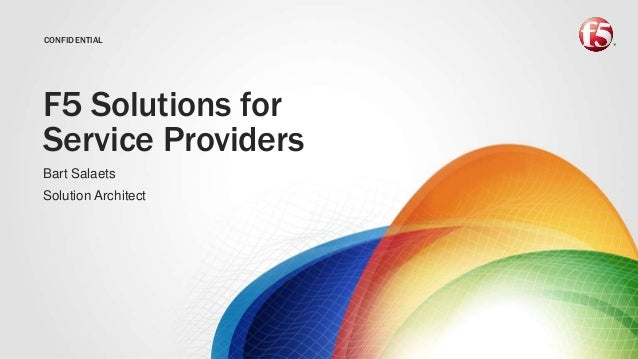 F5 Solutions for Service Providers