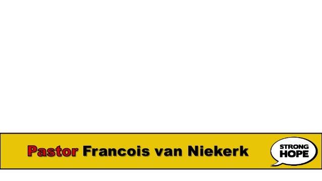 Francois van Niekerk