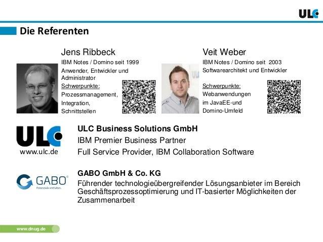 DNUG 2014 Herbstkonferenz: Moderne Architektur - Hochskalierbare Anwendungsarchitektur mit Domino Xpages und JavaEE/SQL-Server im Hintergrund Slide 2