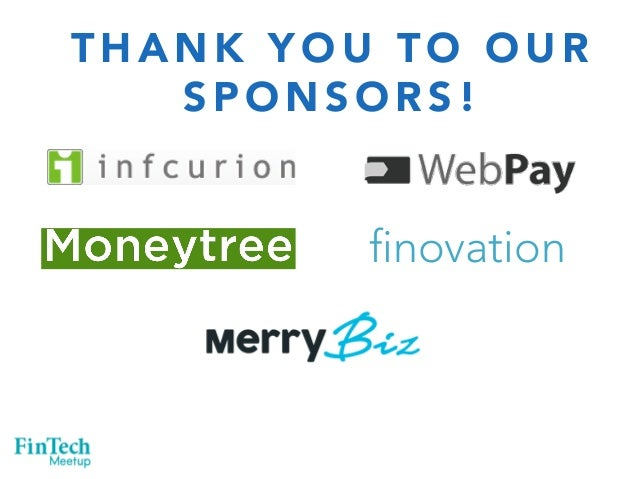 THANK YOU TO OUR  SPONSORS!  finovation