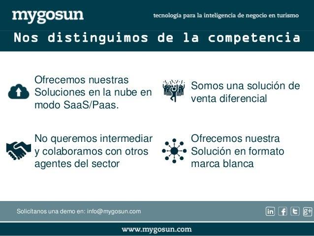 g+  Somos una solución de  venta diferencial  No queremos intermediar  y colaboramos con otros  agentes del sector  Ofrece...