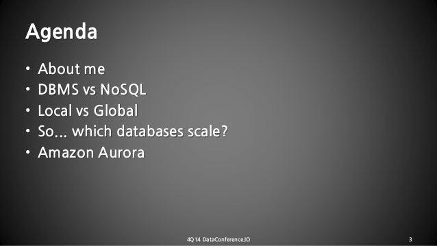 20141206 4 q14_dataconference_i_am_your_db Slide 3