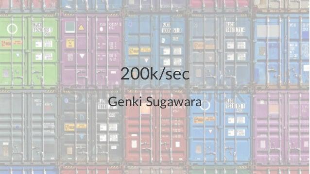 200k/sec  Genki&Sugawara