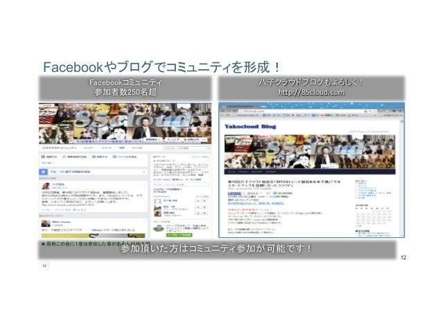 12  Facebook䜔䝤䝻䜾䛷䝁䝭䝳䝙䝔䜱䜢ᙧᡂ䟿  12  㻲㼍㼏㼑㼎㼛㼛㼗䝁䝭䝳䝙䝔䜱䈊  ཧຍ⪅ᩘ㻞㻡㻜ྡ㉸  ඵᏊ䜽䝷䜴䝗䝤䝻䜾䜒䜘䜝䛧䛟䟿  hSp://85cloud.com  䖩ཎ๎䛣䛾䛻䠍ᗘ䛿ཧຍ䛧䛯䛜䛒䜛ே䛜ຍධྍ ཧ...