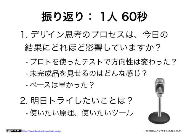 一般社団法人 デザイン思考研究所 http://designthinking.or.jp/
