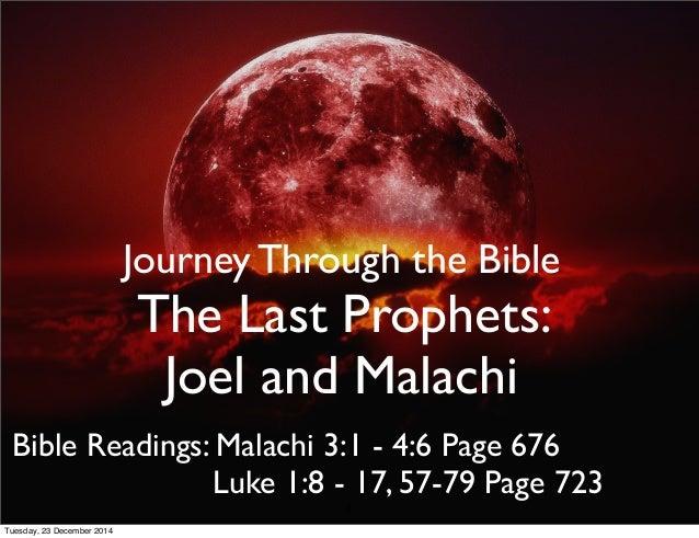 prophet joel in the bible