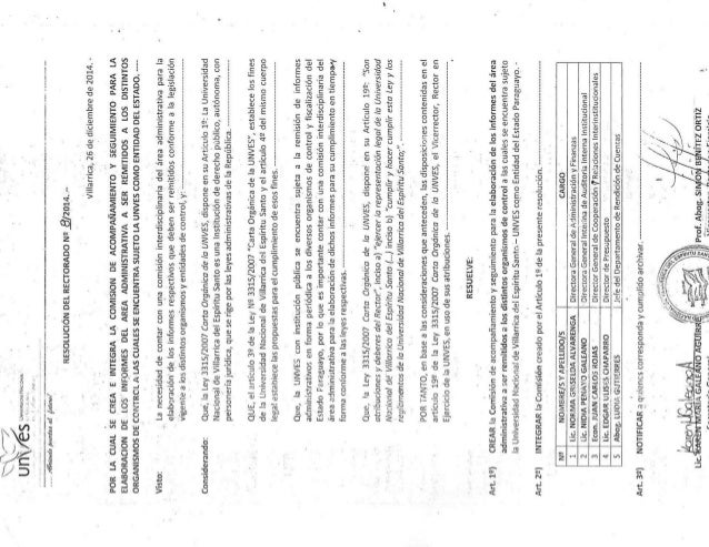 20141226 resol rec 08 comision informes control