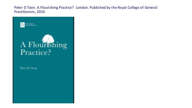 20141231 resum libro-a flourishing practice, p toon Slide 2
