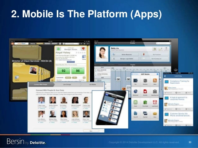 30 2. Mobile Is The Platform (Apps)
