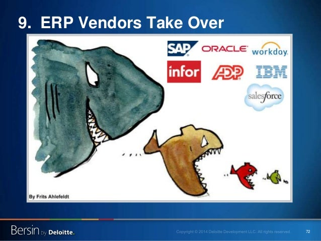 72 9. ERP Vendors Take Over