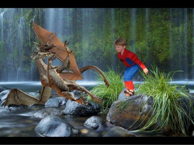 2014 16 aug ilan spiderman en z'n draken