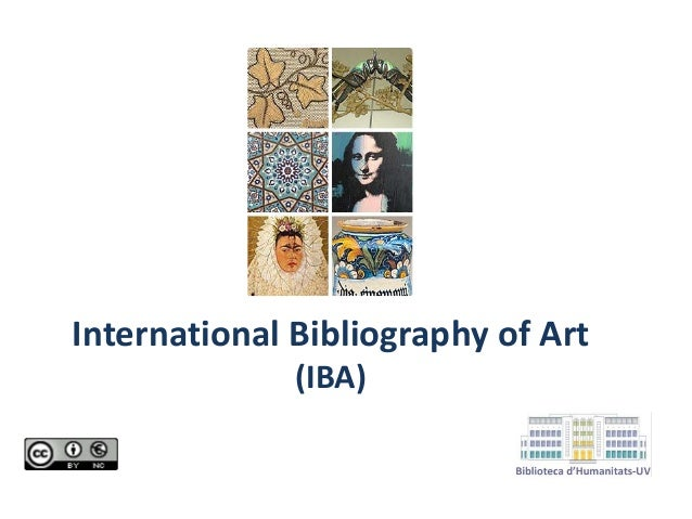 International Bibliography of Art (IBA)