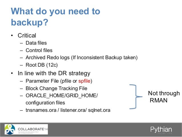 How does an RMAN backup work? Datafiles 1 MB 1 MB 1 MB 1 MB 1 MB 1 MB 1 MB 1 MB 1 MB 1 MB 1 MB 1 MB 1 MB 1 MB 1 MB 1 MB In...