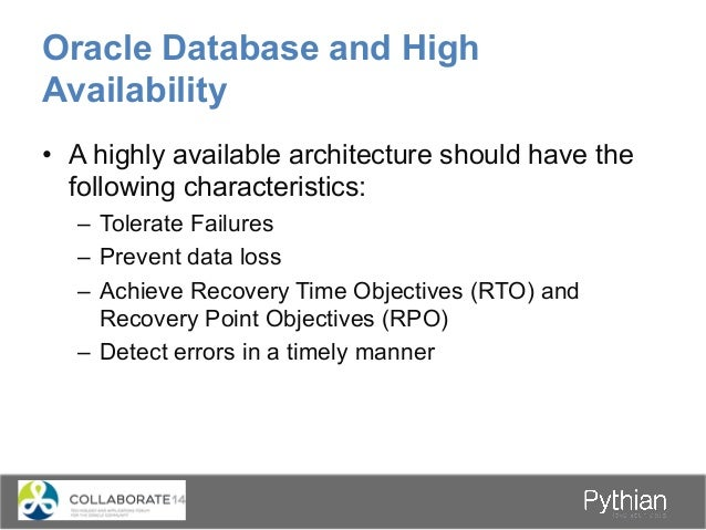 Oracle Real Application Cluster • Architecture that has a one Database to many Instances relationship • All datafiles,co...