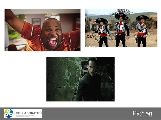 Thank you – Q&A To contact us sales@pythian.com 1-877-PYTHIAN To follow us http://www.pythian.com/blog http://www.facebook...