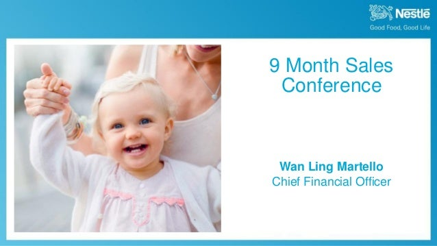 October 16th, 2014  9 Month Sales  Wan Ling Martello Chief Financial Officer  9 Month Sales Conference