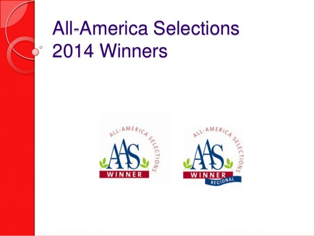All-America Selections 2014 Winners