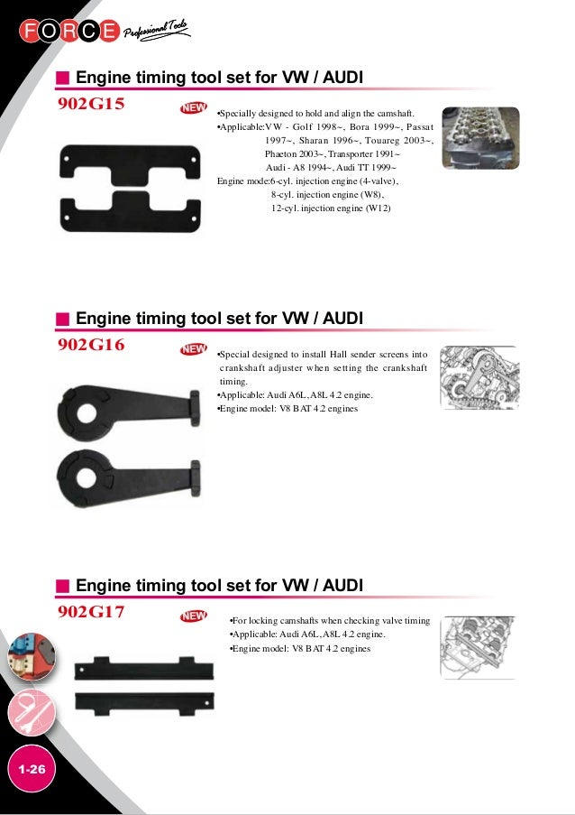 Force Catalog on Vw W8 Engine Timing Chain