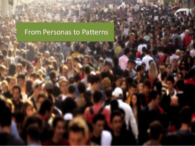 FromPersonasto Patterns