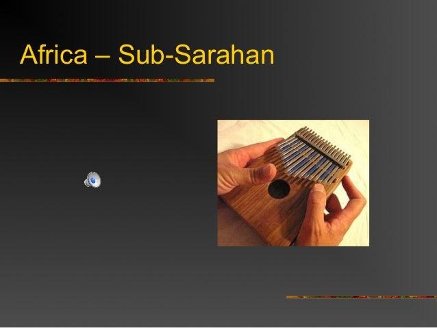 Africa – Sub-Sarahan