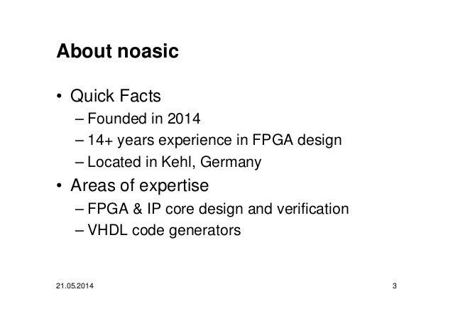 FPGA Design with Python and MyHDL Slide 3
