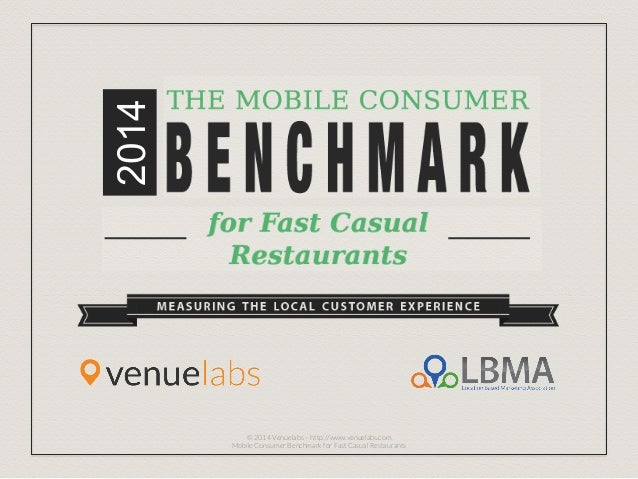 2014 © 2014 Venuelabs – http://www.venuelabs.com Mobile Consumer Benchmark for Fast Casual Restaurants