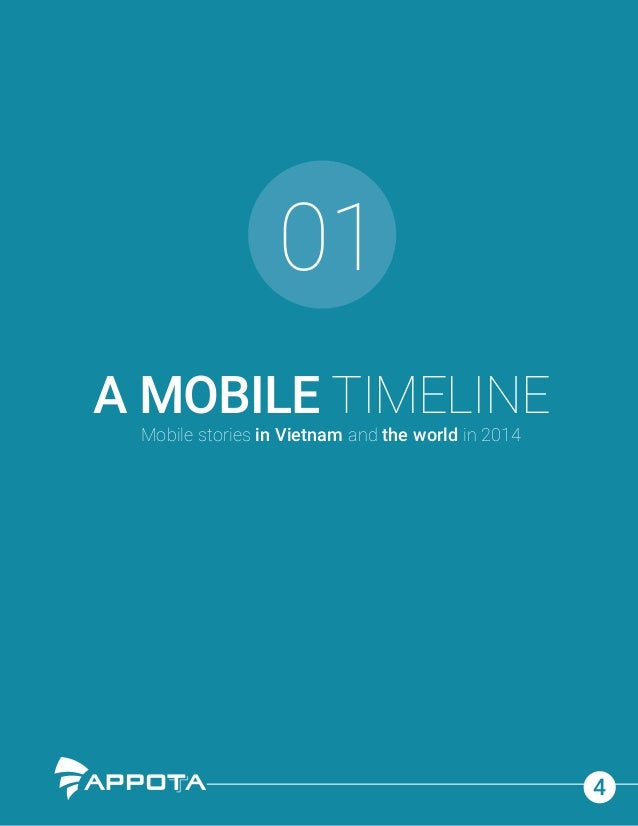 01 4 A MOBILE TIMELINE Mobile stories in Vietnam and the world in 2014