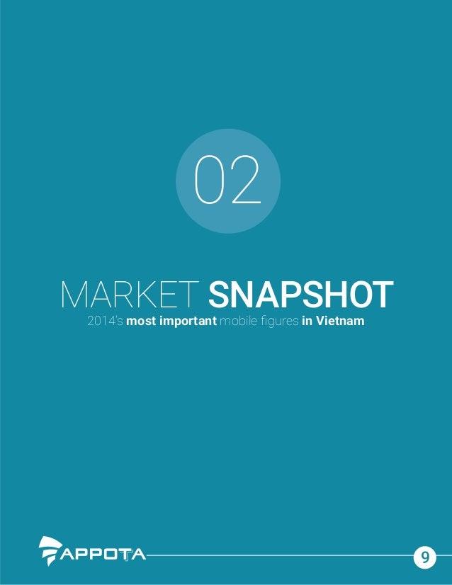 9 02 MARKET SNAPSHOT2014's most important mobile figures in Vietnam