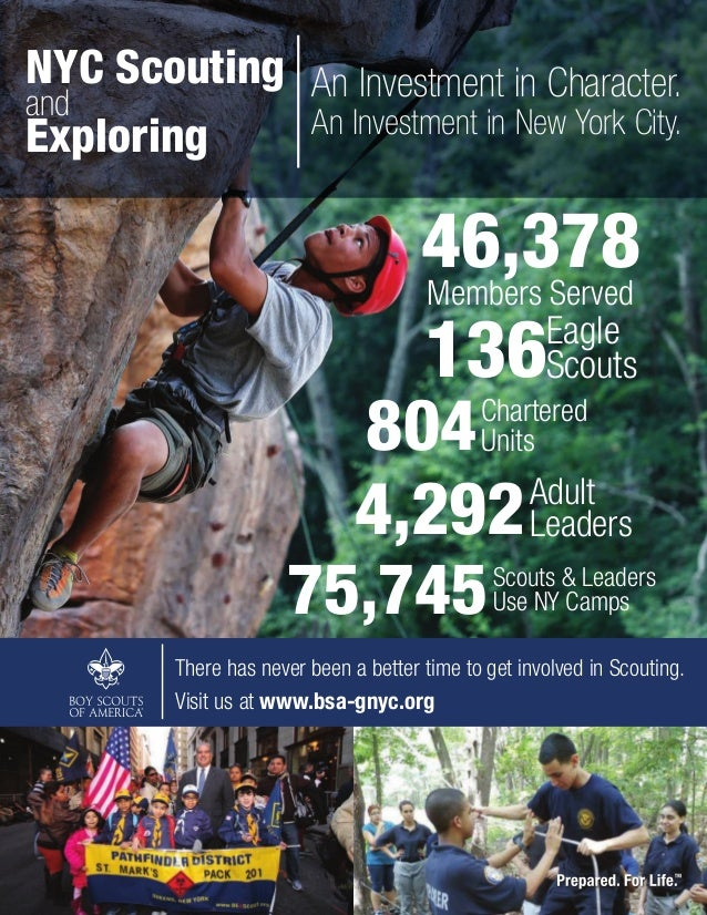 The 2014 Annual Report of the Greater New York Councils, Boy