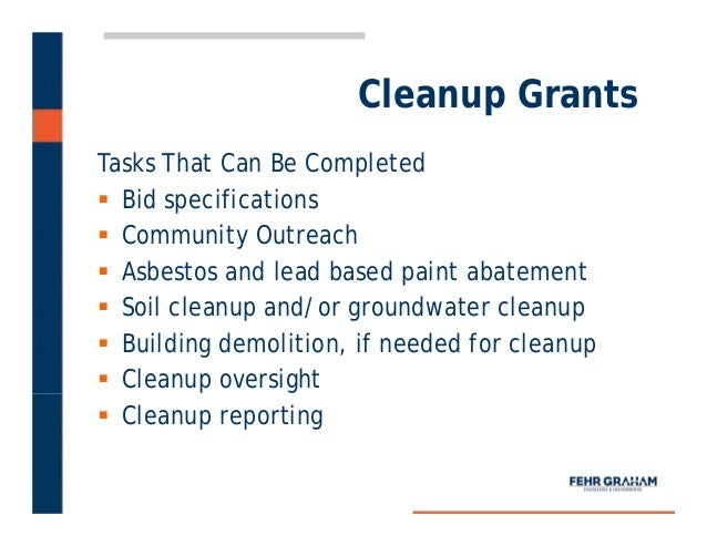 Grants For Lead Paint Removal