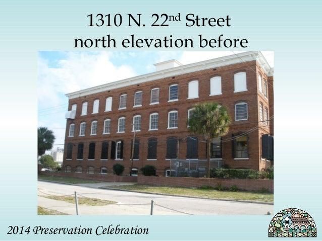 1310 N. 22nd Street  north elevation before  2014 Preservation Celebration