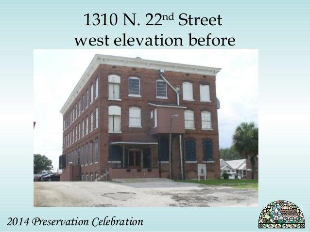 1310 N. 22nd Street  west elevation before  2014 Preservation Celebration
