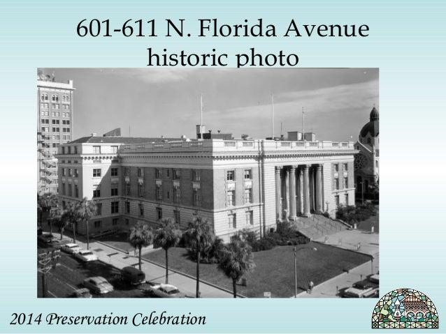 601-611 N. Florida Avenue  historic photo  2014 Preservation Celebration