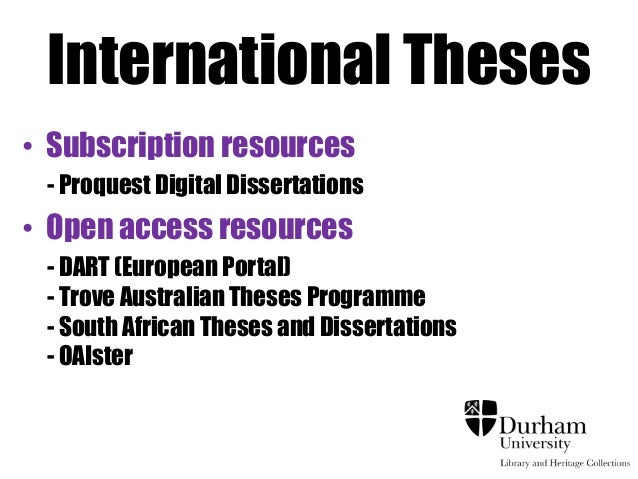 australian digital thesis online Deakin university will make your thesis available online for world-wide access unless you apply to restrict it in one of the australian digital theses program.