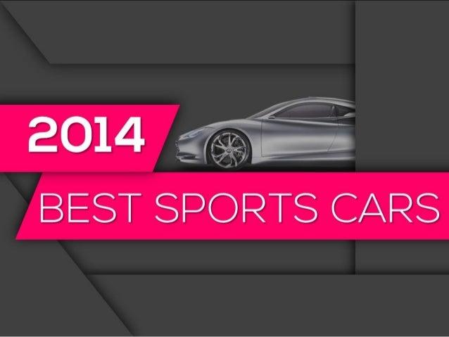 2014 Best Sports Cars