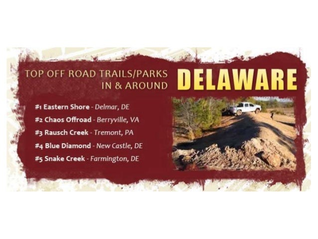 2014 Top Off Road Trails In America