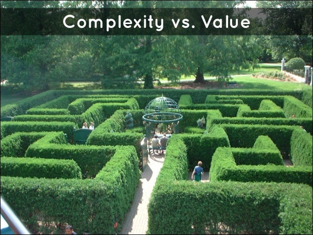 Complexity vs. Value